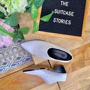 Rebecca Minkoff short cowboy boots.